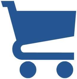 Einkaufswagen-blau
